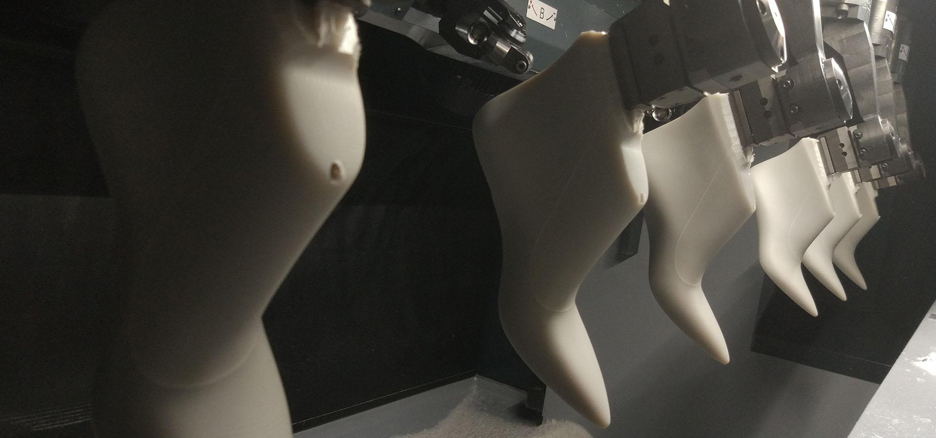 Forme in plastica per calzature - tecnologia NEWLAST SDF