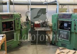 Impianto completo per la produzione di forma in plastica per calzature